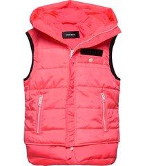 jsunrevsless jacket gevoerd vest roze diesel