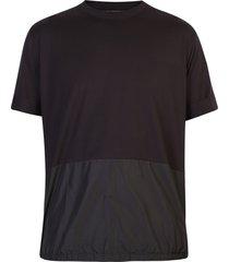 neil barrett nylon and cotton t-shirt