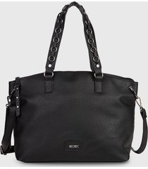 cartera  belfast fw20 negro secret by saxoline
