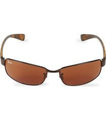 rb3364 62mm rectangle sunglasses