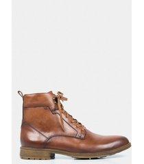 botas casual de cuero vintage