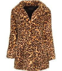 dierenprint jas leopard  dierenprint