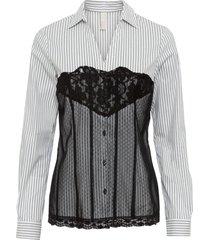 camicetta stile corsetto (bianco) - bodyflirt boutique