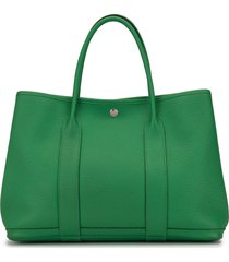 hermès pre-owned garden party 36 tote - green