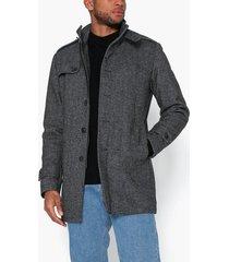 selected homme slhcovent wool coat b noos jackor mörk grå