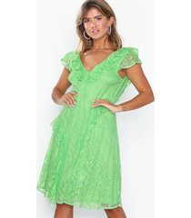 nly eve layered lace dress loose fit