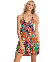 vestido multicolor maaji swimwear wild river linn