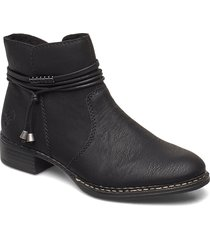 73488-00 shoes boots ankle boots ankle boot - flat svart rieker