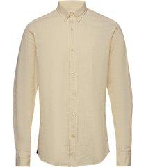 lucas button down shirt overhemd casual beige morris