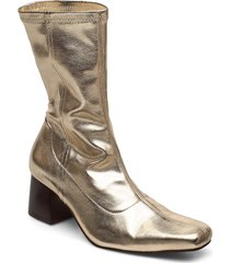 callide shoes boots ankle boots ankle boot - heel guld tiger of sweden