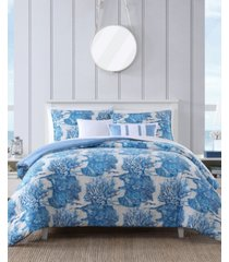 nautica beachway 5-piece comforter bonus set, twin/twin xl bedding