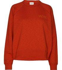 jerri sweatshirt gebreide trui rood wood wood