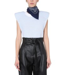 philosophy di lorenzo serafini sweater with shoulder straps