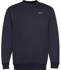 society l-l sweat-shirt tröja blå libertine-libertine