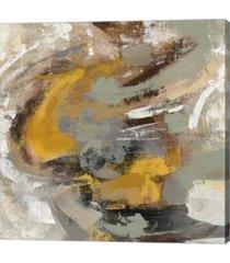 """metaverse amber ring v2 by silvia vassileva canvas art, 24"""" x 24"""""""