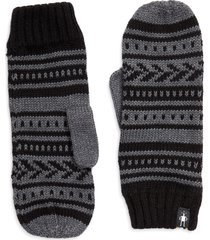 women's smartwool chair lift mittens, size one size - black