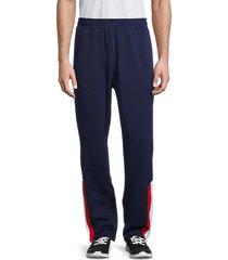 fila men's brezzi pants - navy white - size xl