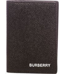 burberry burberry leather cardcase wallet