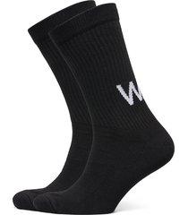 gail 2-pack socks underwear socks regular socks svart wood wood