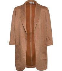frmasuede 2 cardigan blazers over d blazers brun fransa