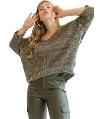 sweater jasper verde militar racaventura