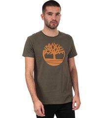 mens brand tree logo t-shirt