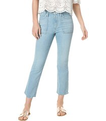 calie utility cropped jeans