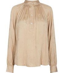 qwin jacquard blouse bluser 136840