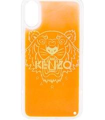 kenzo tiger iphone x/xs case - orange