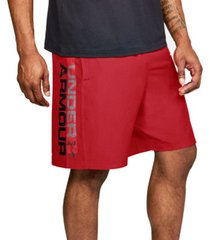 korte broek under armour woven graphic wordmark shorts