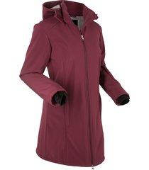 giacca funzionale in softshell con pellicciotto (rosso) - bpc bonprix collection
