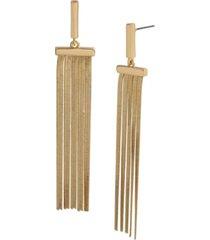 jessica simpson fringe chandelier earrings