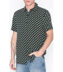 topman 83r26dblk skjortor black