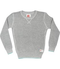 ao76 ribbed knit sweatshirt