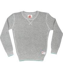 ao76 ribbed knit sweatshirt