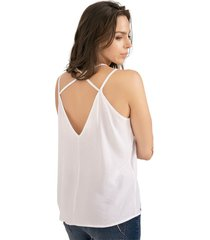 blusa adulto femenino blanco rutta