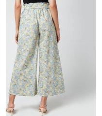résumé women's ehsan trousers - pastel green - dk 40/uk 12