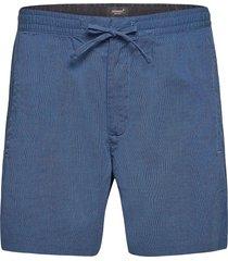 edit taper drawstring short shorts casual blå superdry