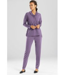 n-vious pullover top, women's, purple, size l, n natori