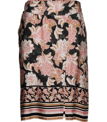 bahiacr skirt knälång kjol rosa cream