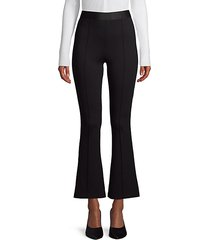 pull-on flared pants