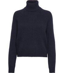 kathleen sweater turtleneck coltrui blauw filippa k