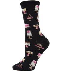 memoi sweet treats women's novelty socks