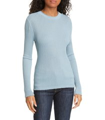 women's veronica beard siena rib knit top