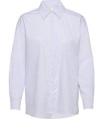 03 the shirt långärmad skjorta vit my essential wardrobe