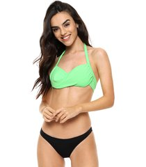 bikini verde lecol abigail