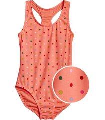 traje de baño naranja gap