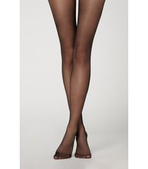 calzedonia 20 denier essential matt tights woman black size 1/2