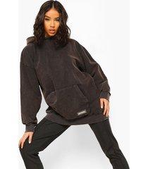 oversized hoodie, charcoal