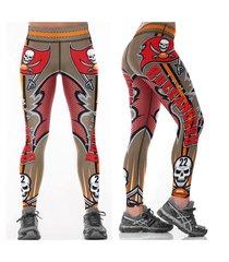 buccaneers  leggings - #22 women fan gear - high quality - nfl tampa bay